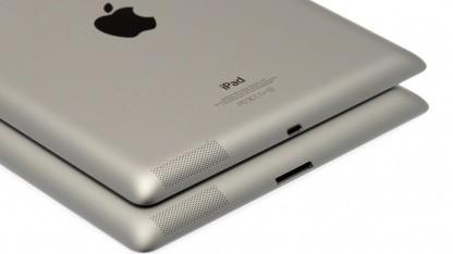 Das neue iPad hat den Lightning-Anschluss.
