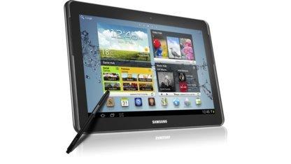 Auf Samsungs Galaxy Note lässt sich Fedora 19 starten.