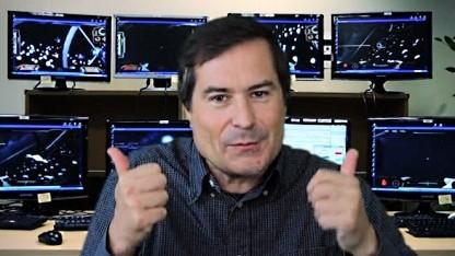 David Braben im Kickstarter-Video