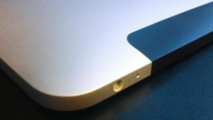 Die abgerundeten Ecken des iPad 1