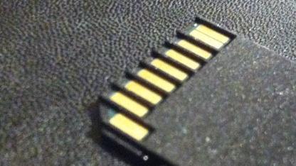 Toshiba will mit Transferjet SD-Karten funken lassen.