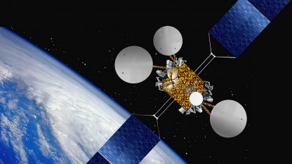 Eutelsat 21B - Illustration im All