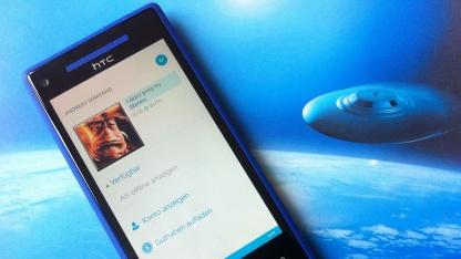 Skype gibt es jetzt auch für die Windows-Phone-8-Plattform.