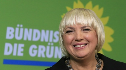 Claudia Roth im November 2012