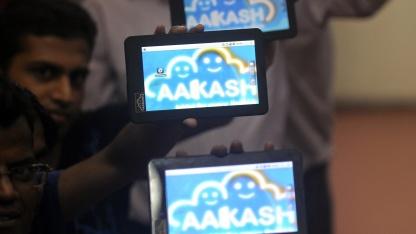 Software-Enwickler in Mumbai mit Aakash 2