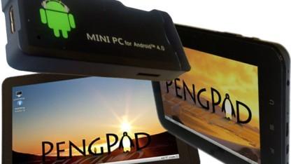 Auf den Geräten von Pengpod läuft Android und Linux.