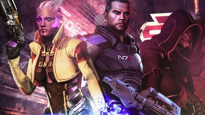 Artwork von Mass Effect 3