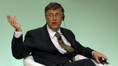 Bill Gates im Februar 2012