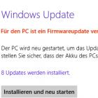 Windows RT: Neue Firmware für Microsoft Surface