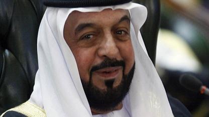 """Scheich Chalifa bin Zayid Al Nahyan, Präsident der Vereinigten Arabischen Emirate (2009):  """"Ansehen des Staates, seiner Institutionen, Symbole und Repräsentanten nicht verunglimpfen"""""""