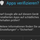 Android 4.2: App-Prüfung erkennt nur wenig Schadsoftware