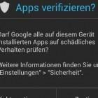 Android 4.2: Google erläutert die neue App-Prüfung