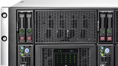 HPs SL4500 kann bis zu 60 Festplatten aufnehmen.