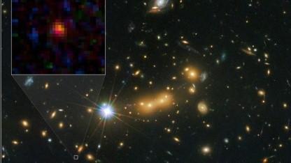 Galaxie MACS0647-JD: 13,3 Milliarden Jahre