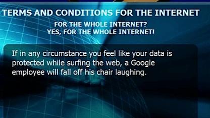 Drastische Werbung von Cyberghost