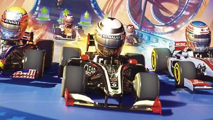 Artwork von F1 Race Stars