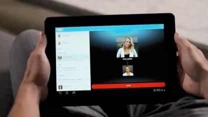Skype für Android 3.0 nutzt nun auch Tablet-Displays aus.