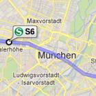Öffentlicher Nahverkehr: München und Münster integrieren Fahrpläne in Google Maps