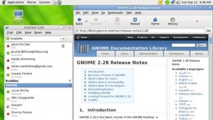 Gnome 3 soll mit offiziellen Erweiterungen wieder wie Gnome 2 aussehen.