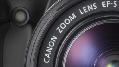 EF-S-Objektiv an Canon 1100D