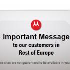 Restrukturierung: Google schließt einige Motorola-Webseiten