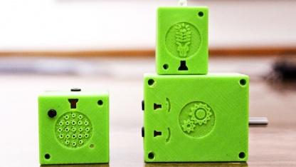 Atoms Express Toys - mit ihnen sollen Kinder ihr Spielzeug zum Leben erwecken.