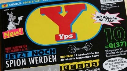 Yps-Ausgabe 1.258 mit Urzeitkrebsen