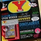 Gimmicks: Yps erscheint 2013 vierteljährlich und im Abo