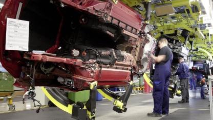 Produktion der Mercedes-Benz-SL-Klasse