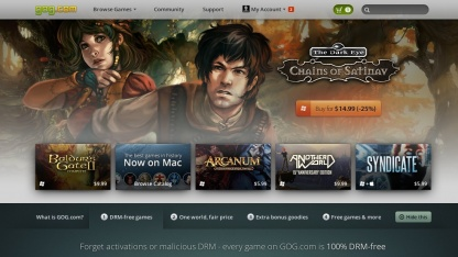 GOG.com stellt sicher, dass alte PC-Spiele auch unter Windows 8 laufen.