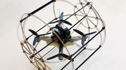 Roboter Hytaq: Käfig als Schutz und Rad