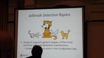 Snoop-It kann auch Anwendungen untersuchen, die bei einem Jailbreak nicht mehr starten.