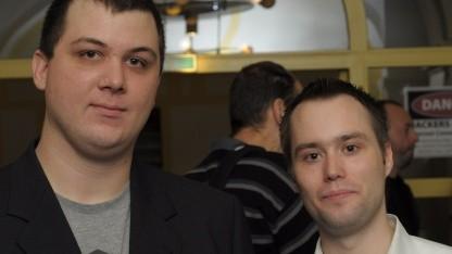 Die Hacker Pascal Turbing und Hendrik Schmidt demonstrierten die Übernahme des ESXi-Hypervisors von VMware.