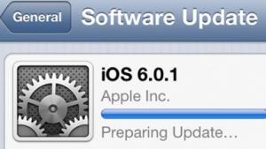 Apples neues iOS 6.0.1 soll zahlreiche Probleme beheben.