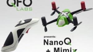 Miniquadcopter NanoQ und Fernsteuerung Mimix: Kickstarter-Projekt für die Serienreife