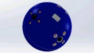 Ballkamera: Infrarot-Leuchtdioden für Nachtaufnahmen