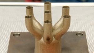 Triebwerksteile aus dem 3D-Drucker: komplexe Formen