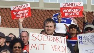 CWA-Protestaktion im April 2012