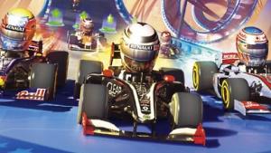 Test F1 Race Stars: Spaßbremsen im Formel-1-Zirkus
