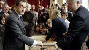 Nicholas Sarkozy (bei der Wahl 2012): kein Computer - keine Schadsoftware