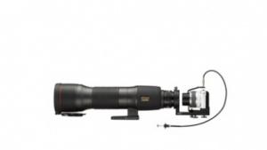 Nikon Digiscoping Adapter DSA-N1 an einem Spektiv