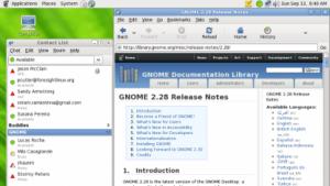 Gnome 3 könnte mit Erweiterungen wieder wie Gnome 2 aussehen.