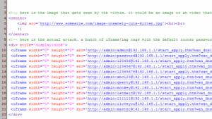 GET-Requests in einer E-Mail ändern die DNS-Einstellungen eines Routers.