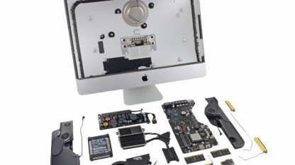 Der von iFixit zerlegte iMac