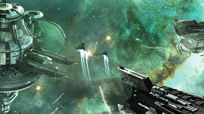 Artwork von Eve Online Retribution