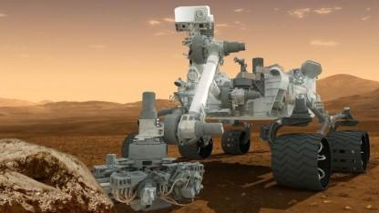 Rover Curiosity: Ersatzteile im neuen Rover verbauen