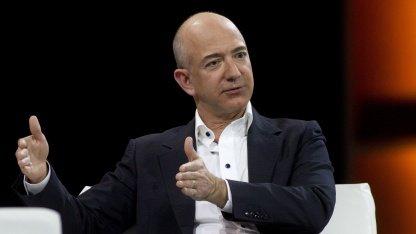 Amazon-Chef Jeff Bezos auf der AWS re:invent