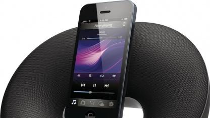 Philips: Lautsprecher-Dockingstations mit Lightning-Anschluss
