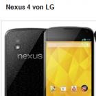 Nexus 4 und Nexus 10: Google-Geräte kommen erst nächstes Jahr in den Handel