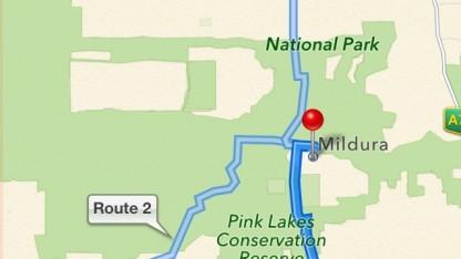 Mildura liegt eigentlich nicht mitten in einem Nationalpark mitten in der Wüste.